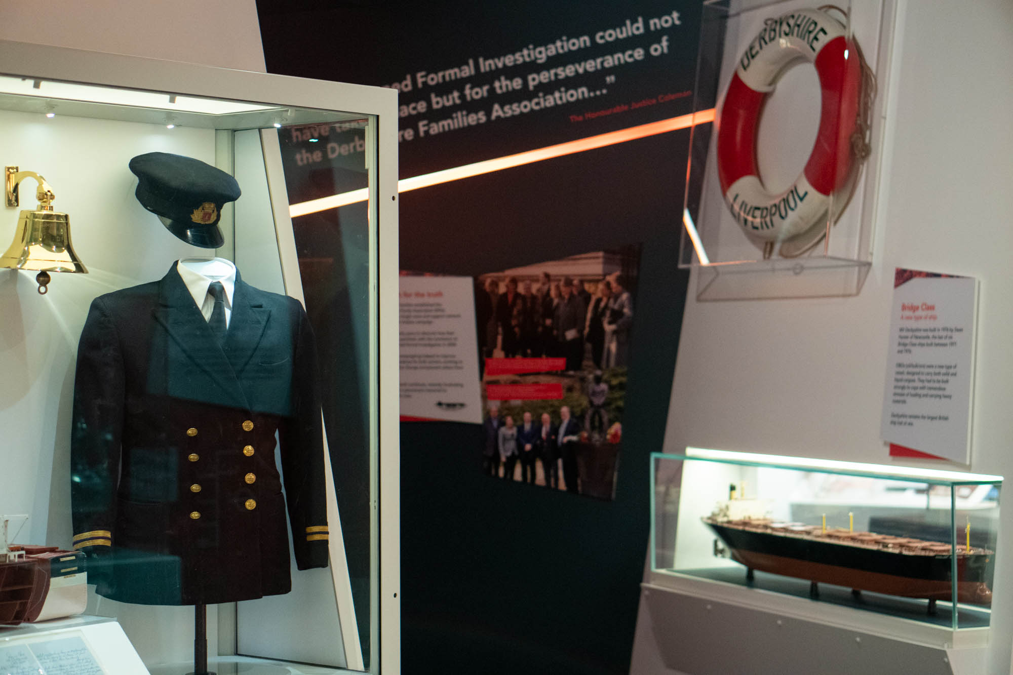 Photo of the Life on board exhibit