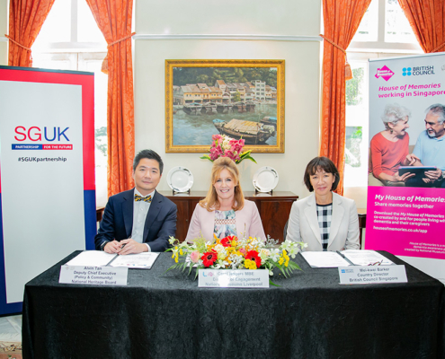 House of Memories MoU Signing in Singapore © British Council